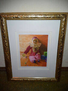 ****CHARMING FRAMED LIMITED EDITION PRINTS BY VANYA RYAN****