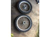 Honda motocross wheels crf
