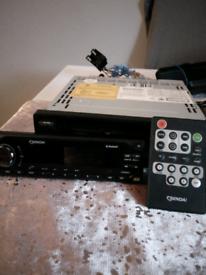 Car stereo radio CD player