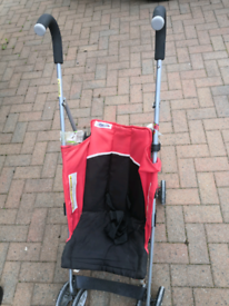 Stroller with Brand New Footmuff