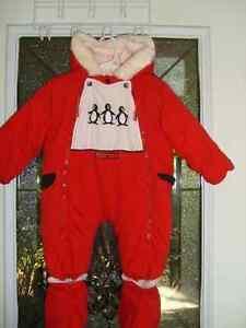 Kushies 18 mo one piece snowsuit