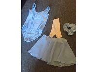 Girls dance outfit, tap shoes, ballet shoes