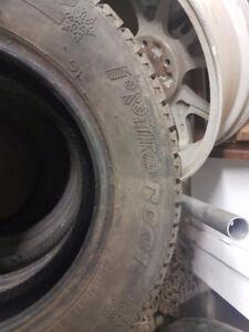 """Hankook 13"""" winter tires"""