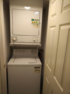 Stacked Condo GE Washer and Dryer - Excellent Condition