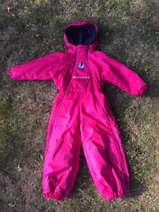 High Quality Preschooler Snowsuit