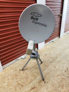 Bell Express dish with Tripod