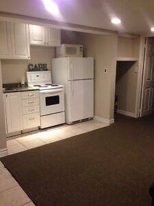 Studio one bedroom apartment with sSeparate Entrance