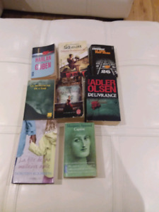Lot de 8 Livres,  Romans , Margaret Atwood etc...