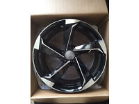 """BRAND NEW 18"""" AUDI TTRS S LINE STYLE ALLOYS- TT A5 A6 A7 A8 RS3 RS4 RS5 FULL SET"""