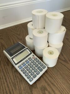 Canon Palm Printer Calculator
