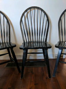 County style dining chairs