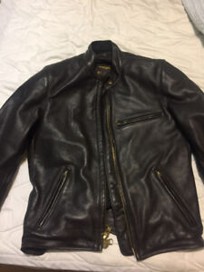 Vanson Leather Riding Jacket Motorcycle Armour size 40 U.S.
