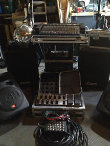 Complete Band sound and lighting system