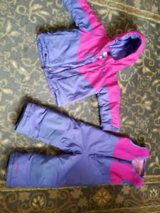 Girls 3T Columbia 2 piece snow suit