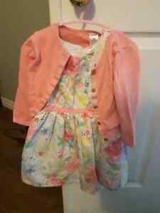 Carter's 18m dress and sweater