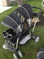 Graco Ready2Grow Stand and Ride Double Stroller