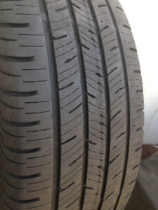 3 Continental Summer tires 215-55-18 Call (438)992-7870