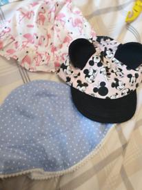 3-6M summer hats