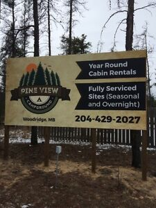 Seasonal Sites available in ATV friendly Campground