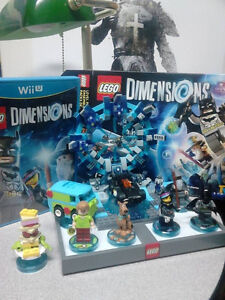 Lego Dimensions Starter Set and Scooby Doo Set for Wii U