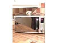 Rossel Hobbs microwave for £60, Bosch toaster £35, Bosch electric kettle £55
