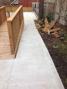 Concrete Shed pads & hot-tub pads London Ontario image 8