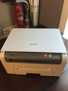 Samsung SCX 4200 laser printer with new toner cartridge.