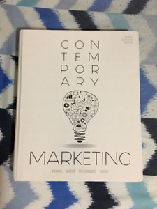 Contemporary marketing buy or sell books in ontario kijiji adms 2200 contemporary marketing 4th cdn edition fandeluxe Choice Image