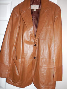 MEN'S NEW LEATHER SPORTS JACKET