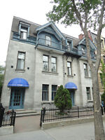 fantastic apartment in the heart of Montreal, lots of character