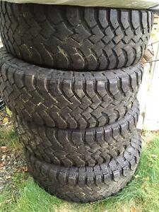 Hankook Dynapro MT tires 30x9.5/R15