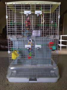 Bird Cage + Toys and Accessories