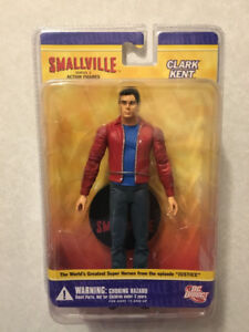 """""""SMALLVILLE"""" Series 2 - Complete Set of 5 Action Figures (2008)"""
