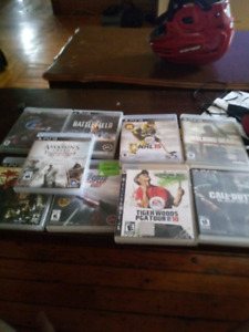 Ps3 games $ 30 for lot