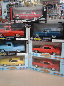 NEW IN BOX DIECAST CARS