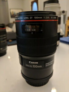 Canon Macro Lens 100mm f 1:2.8 L IS USM.