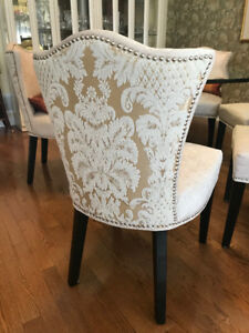Dining Room Chairs for sale - matches designer table and cabinet