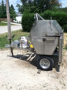 Pig roast rotisserie spit for rent