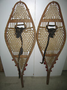 Antique, Indian made snowshoes