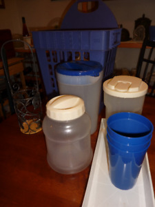 Camping or kitchen containers