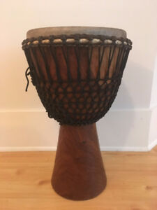 African Djembe with case