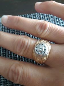 Men's size 11 ring