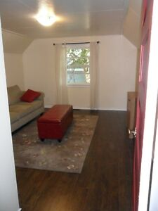 1 bedroom furnished upstairs suite