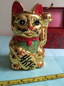 Chinese Style Lucky Cat