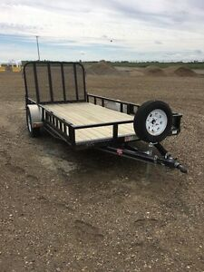"""2015 PJ Trailer 77""""wide, 14' long, like new condition"""