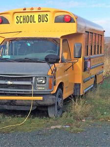 2002 Chevrolet wheelchair bus St. John's Newfoundland image 1