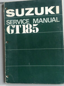 1973 Suzuki GT185 Service Manual