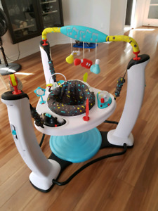 Exersaucer evenflo session musicale jump and learn