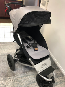 Mountain Buggy Urban Jungle Stroller - Silver - Like New