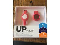 Up move wireless activity and sleep tracker
